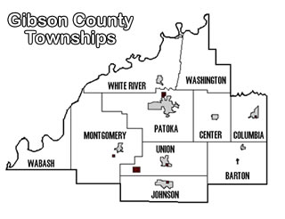 Gibson County Townships